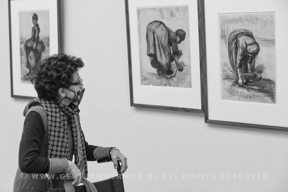 straatfotografie van gogh museum