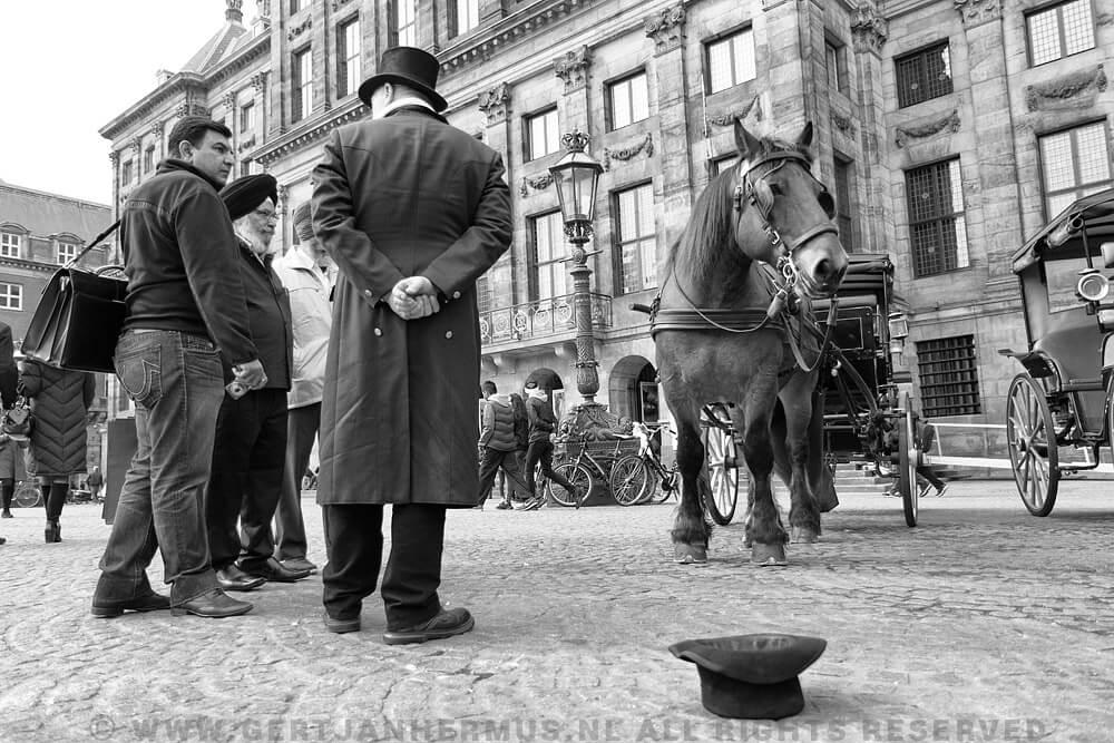 straatfotografie Amsterdam De Dam