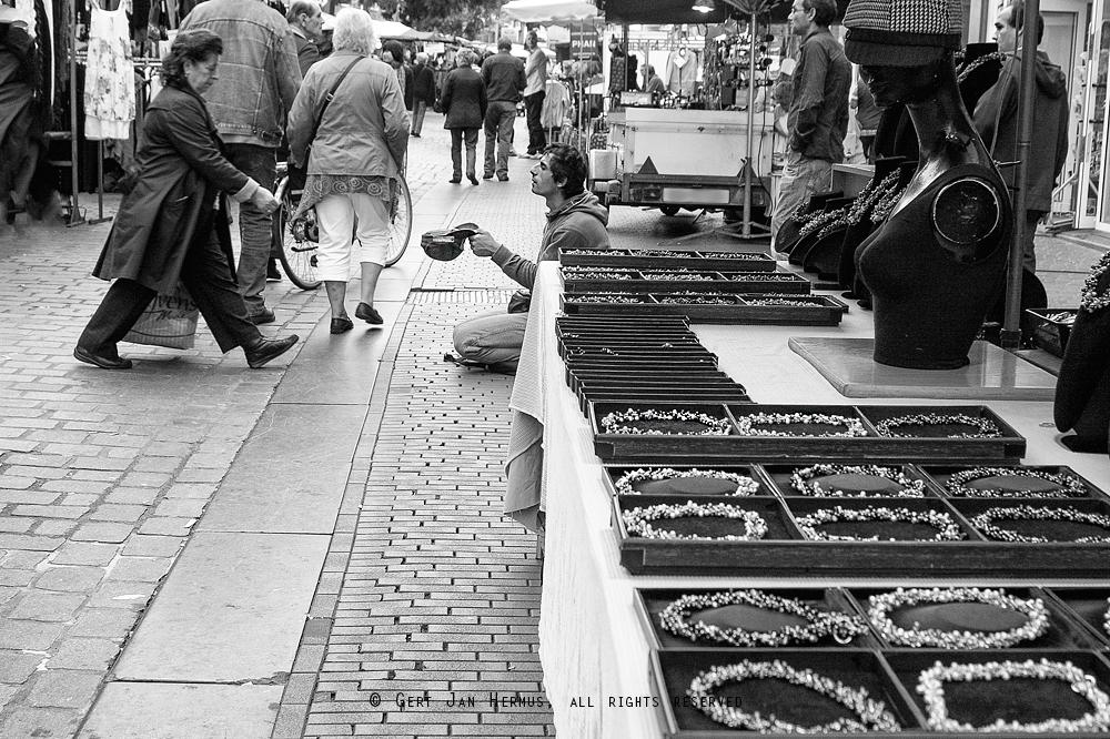 straatfotografie nijmegen bedelaar