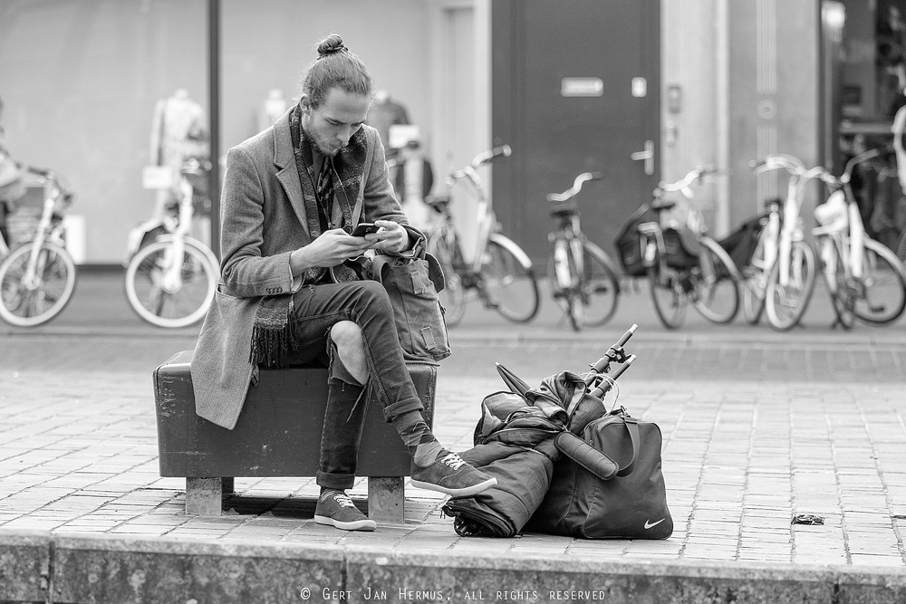 straatfotografie telelens