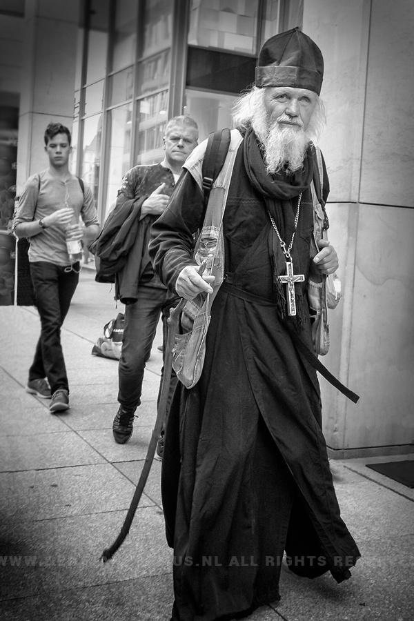 straatfotografie monnik