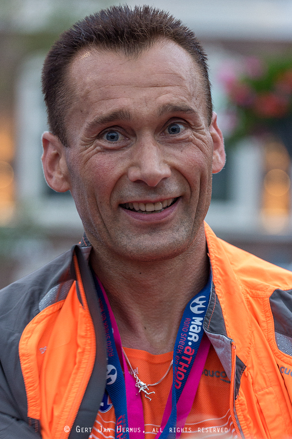 Marathon Sneek winnaar Jan Venhuizen
