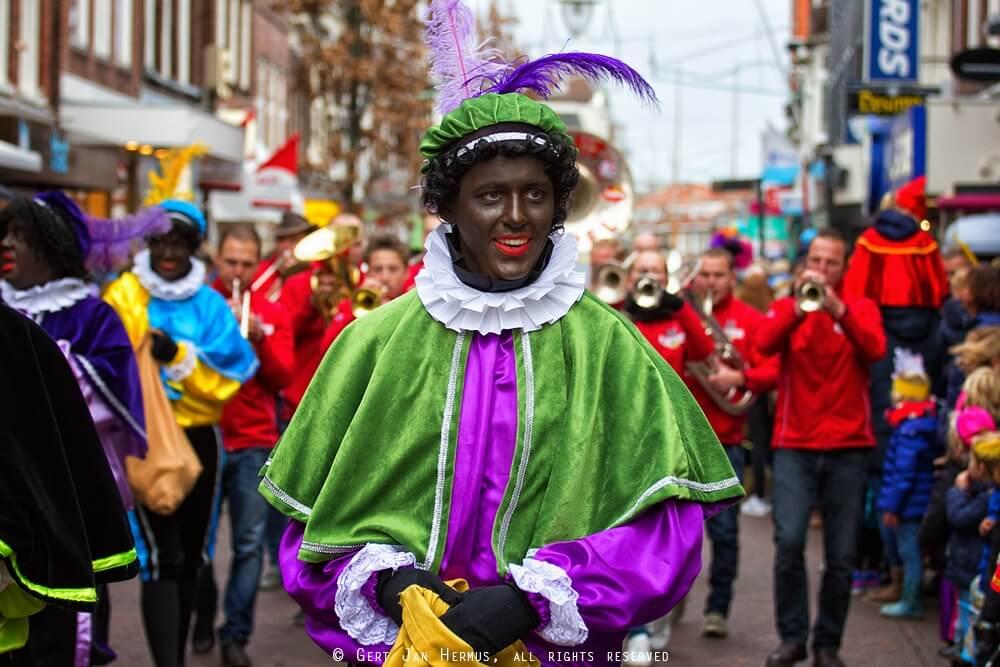Sinterklaas en Zwarte Piet in Sneek