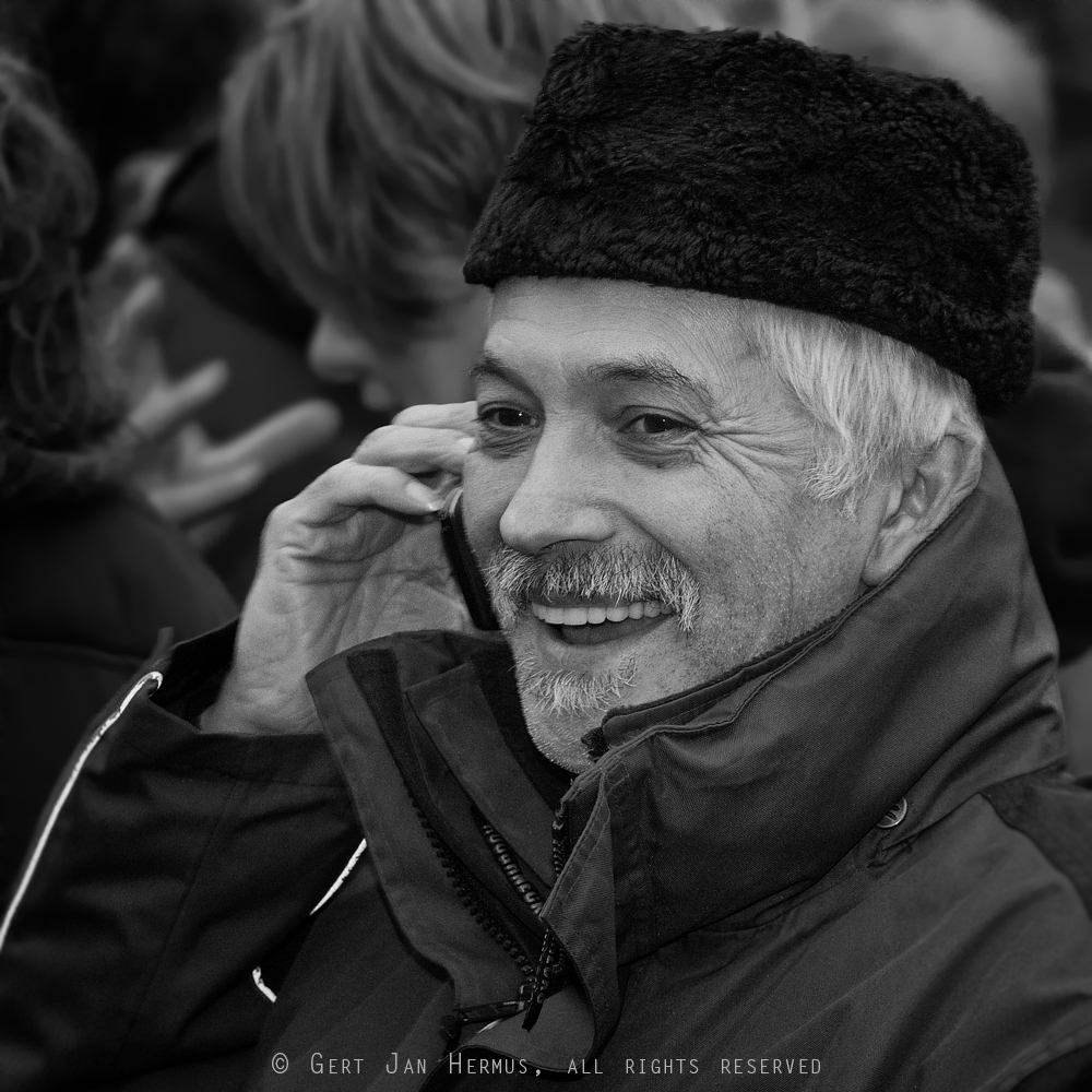 Straatportret man