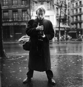 Ed van der Elsken zelfportret