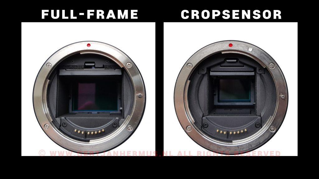 full-framesensor cropsensor