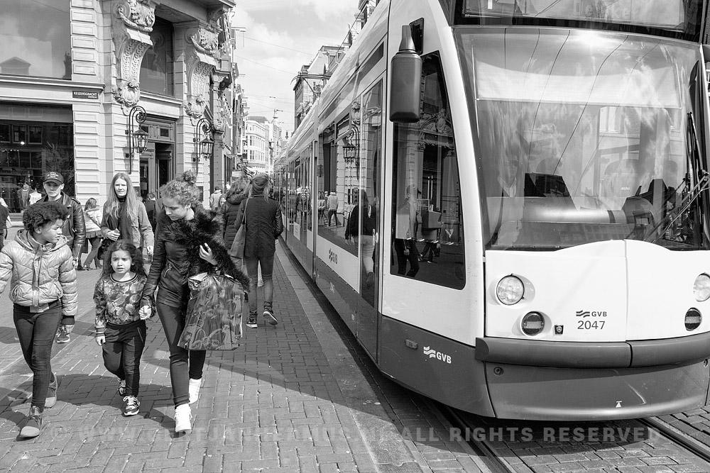 straatfotografie tram