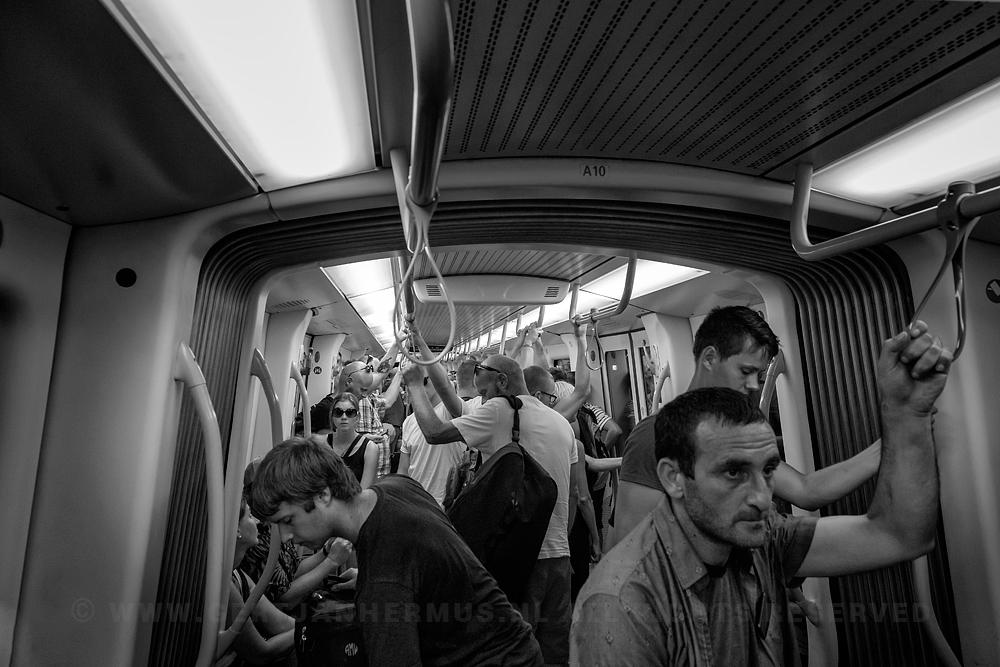 straatfotografie metro