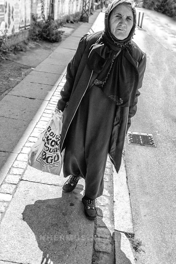 dakloze vrouw in Kopenhagen