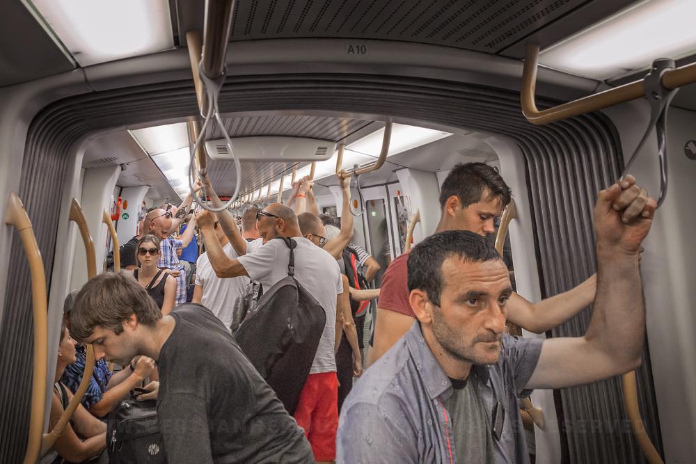 mag je mensen fotograferen in de trein of op station