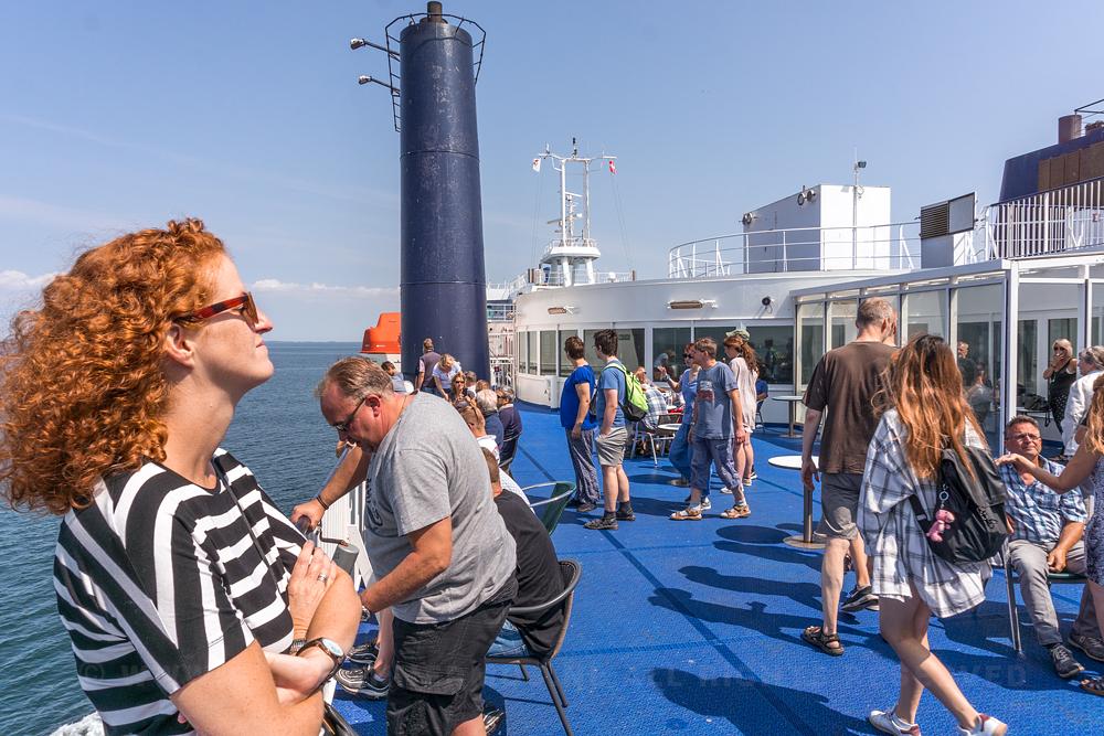 mag je fotograferen op een veerboot