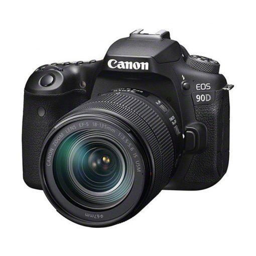 review Canon 90d met 18-135mm objectief