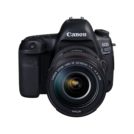Canon EOS 5D Mark IV DSLR Body + 24-105mm IS II USM