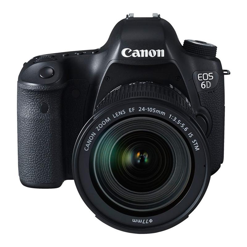 Canon eos 6d mk2 met 24-105 usm